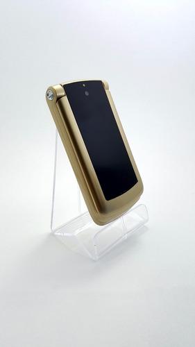 telefono komu x66 celular flip adulto mayor barato libre