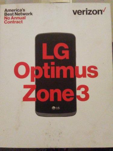 telefono lg optimus zone 3