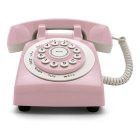 Telefono Linea Fija Retro Phone ´70 Gato Teclado Simil Disco