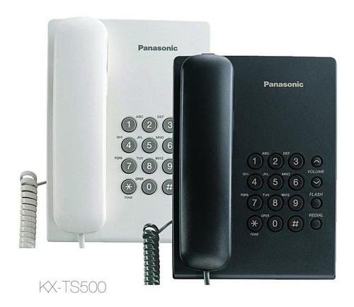 telefono local oficina casa panasonic kx-ts500 somos tienda