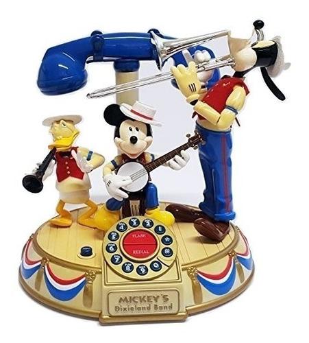 telefono mickey mouse pato donald, ,goofy orquesta