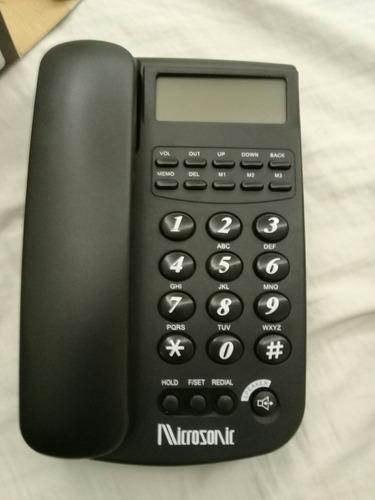 teléfono microsonic 2418 en oferta( dos × 28)