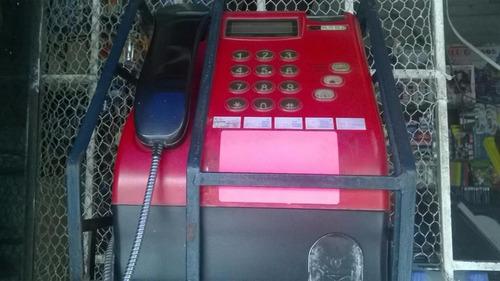 teléfono monedero convencional