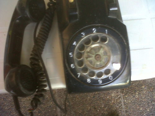 telefono negro standard electric