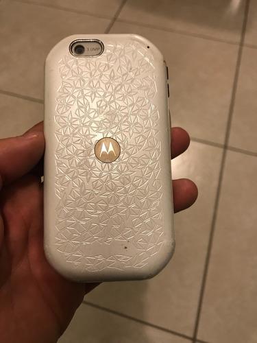 teléfono nextel i867 blanco usado funciona perfectamente
