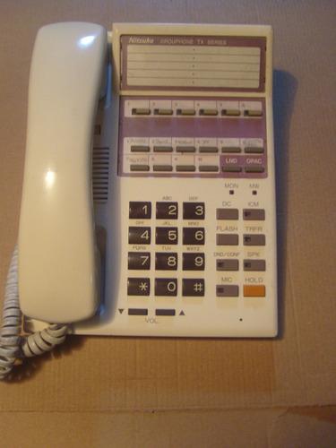teléfono nitsuko standard tx 6 teclas