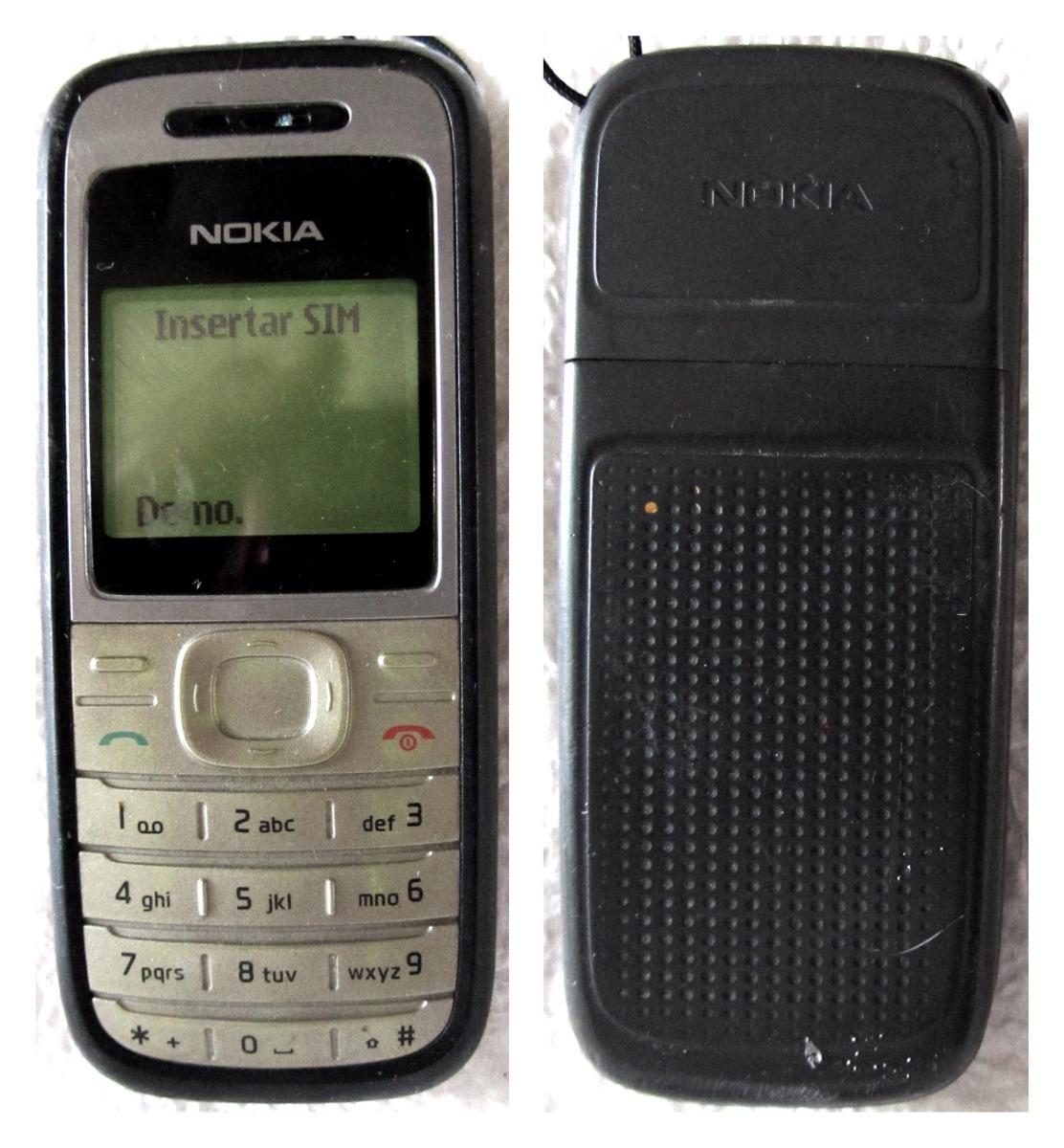 8d034eb3d6b Telefono Nokia 1200 Celular Usado Pila Generica Telcel Mkvrn ...