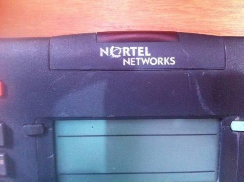 teléfono nortel networks m3903 integraciones tecnologicas