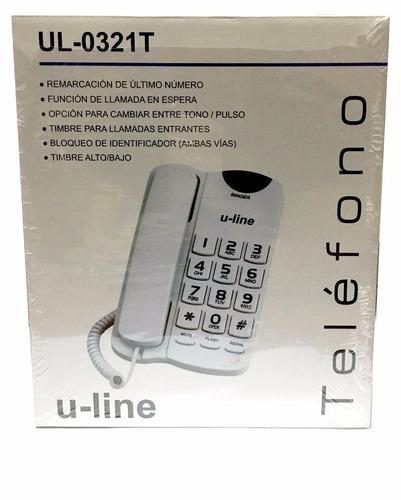 telefono numeros grandes llamada espera timbre alto