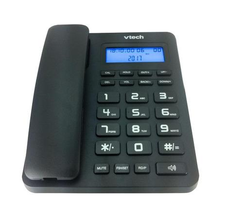 telefono oficina/casa vtech negro cd1113 nuevo de mesa/pared