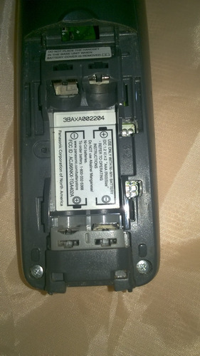 telefono panasonic 6 handset kx tga421 inalambrico sin base