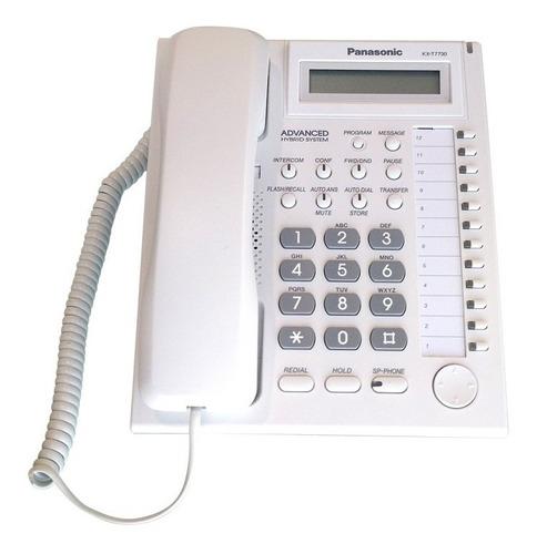 teléfono panasonic analógico híbrido kx-at7730x