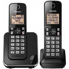 teléfono panasonic inalambrico doble kx-tgc352 dect 6.0 auxi