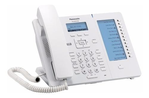 telefono panasonic  ip sip poe lcd kx-hdv230xb nuevo iva inc