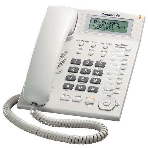 telefono panasonic kx-t7716 unilinea con identificador de ll