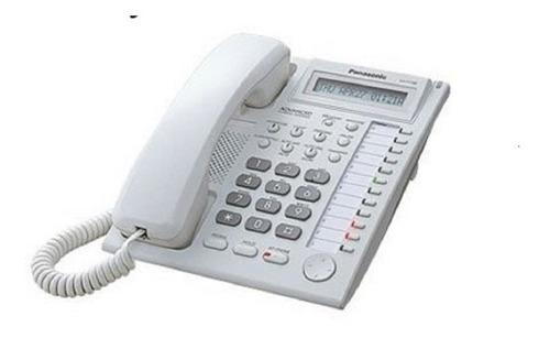 teléfono  panasonic kx-t7730 blanco 24 teclas