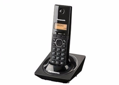 teléfono panasonic kx-tg1711meb, escritorio, negro, no, si,