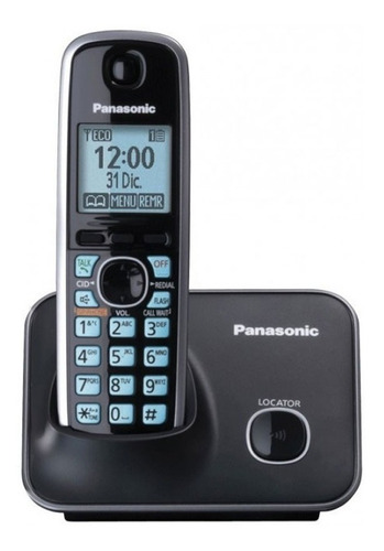 telefono panasonic kx-tg4111inalambrico dect con pantalla lc