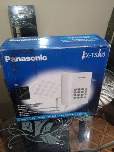 teléfono panasonic kx-ts500 color negro. nuevo.