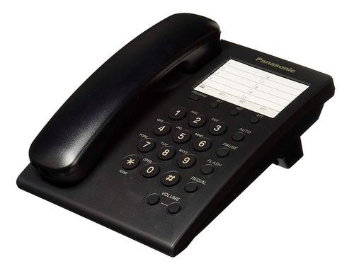 teléfono panasonic kx-ts550 alámbrico básico unilinea 13 mem
