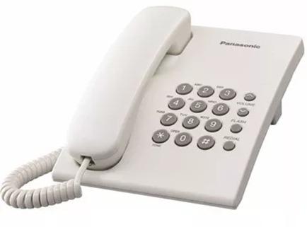 teléfono panasonic mesa/pared kx-ts500