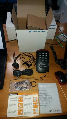 teléfono  para call center  plantronics t10