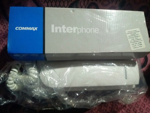 telefono para intercomunicador commax model tp-k (oferta)