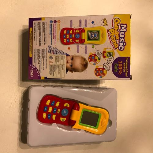 telefono para niños con luz y sonido 144683