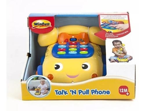 telefono parlante luces y sonido unisex