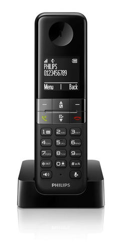 teléfono philips identificador llamada altavoz dect garantia