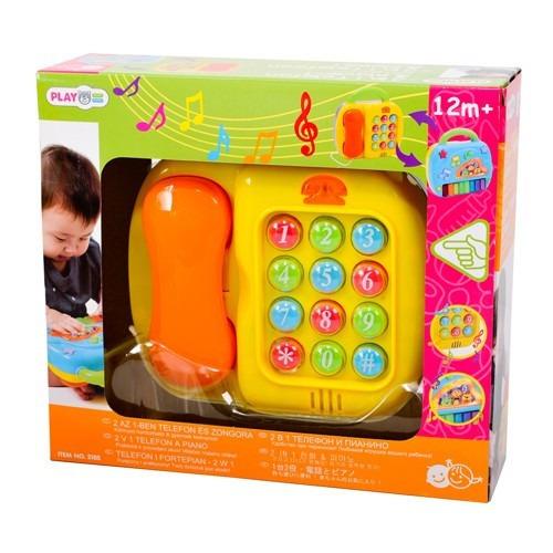 teléfono piano bebés niños lúdico juguete infantil play go