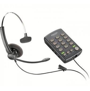 teléfono plantronics con diadema práctica t110 facturada