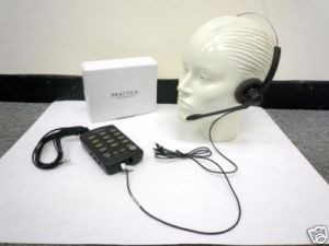 telefono plantronics t110, vincha, headset, call center