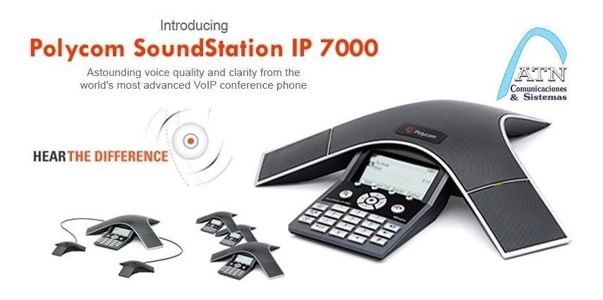 Telefono Polycom Ip-7000 Soundstation Conferencias Oferta!!!