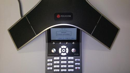 teléfono polycom soundstation ip 7000 sin caja