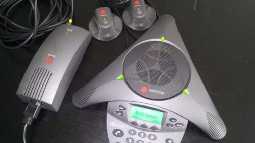 teléfono polycomsoundstation vtx1000nueno sin caja