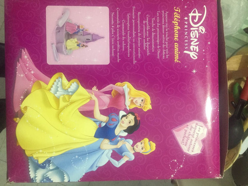 teléfono princesas animando disney