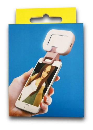 teléfono recargable selfie llenar luz 36 led 3 modo con
