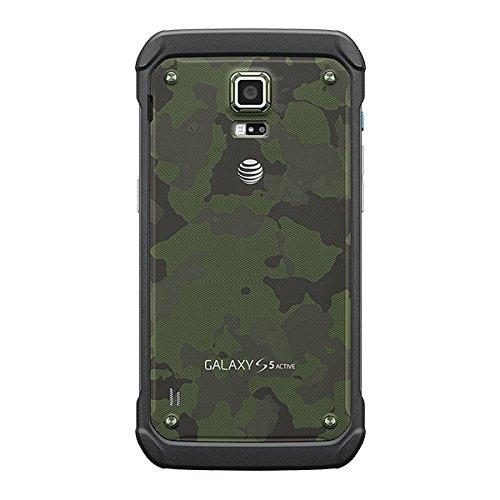 teléfono samsung g870a galaxy s5 activo p/at&t verde camufl