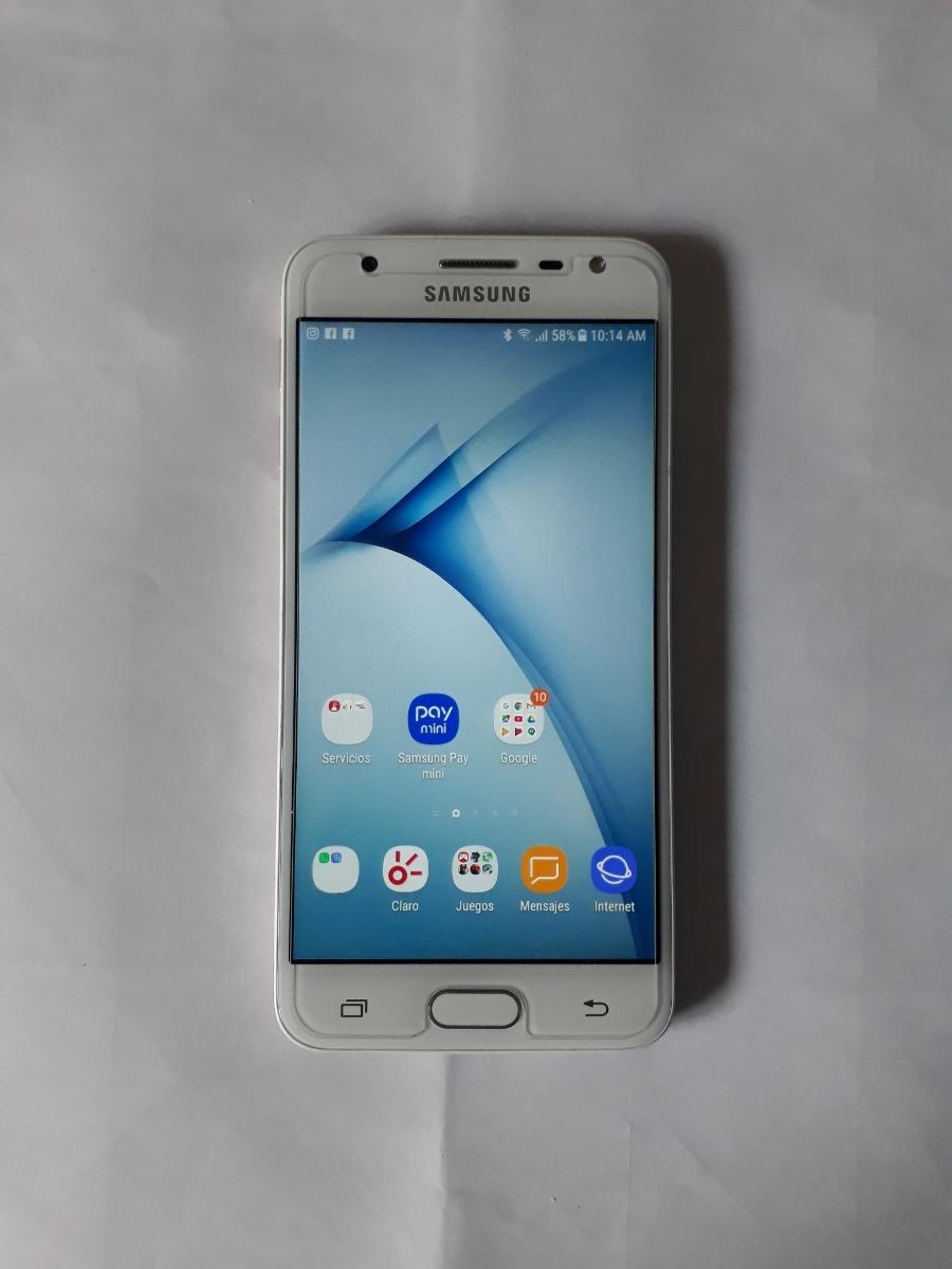 f4c1da45710 Telefono Samsung J5 Prime Blanco Con Dorado - Bs. 150.000,00 en ...