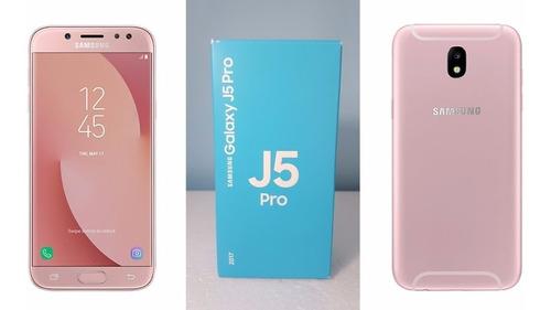 telefono  samsung j5 pro rosado+ micro 32 clase 10 original