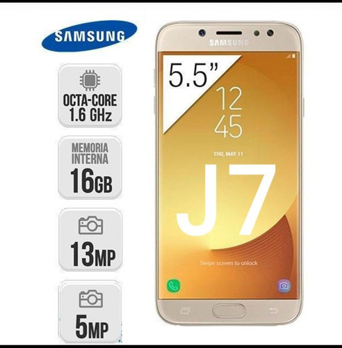 telefono samsung  j7 pantalla 5.5