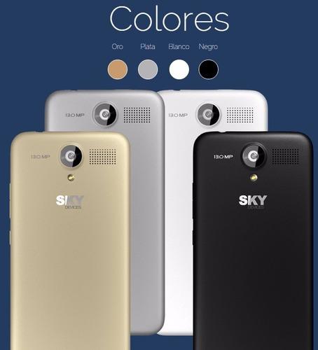telefono sky 5.0 + camara  13 mp whatsapp android liberado