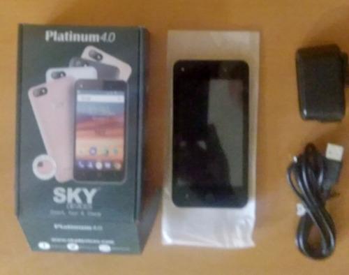telefono sky platinum 4.0 desbloqueado (65 verdes)
