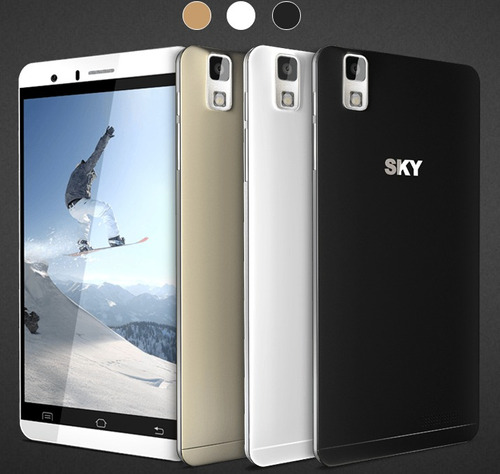 telefono sky  platinum 5.5+ android barato whatsapp liberado