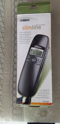 telefono slimline negro