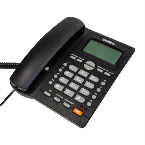 telefono sobremesa pantalla lcd/ alarma uniden