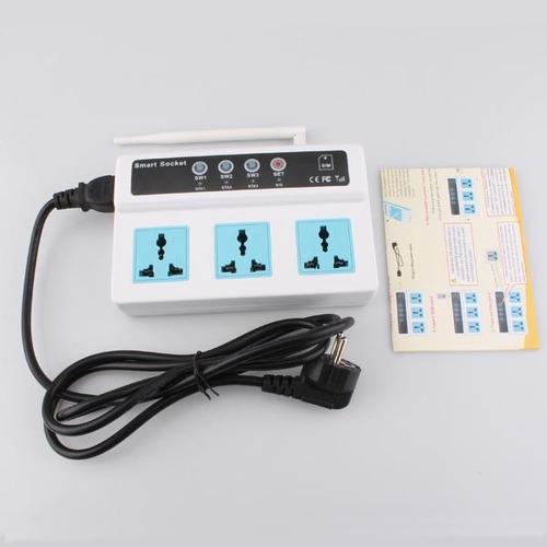telefono socket control remoto domótica gsm sim 3g on/off