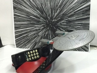 telefono star trek- wired