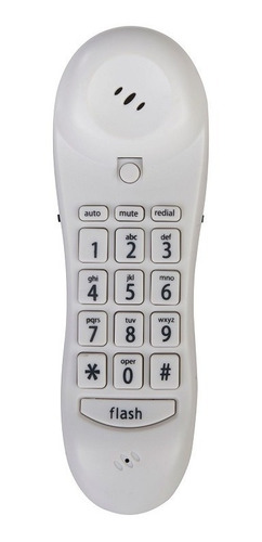 teléfono tipo góndola blanco identificador llamadas steren